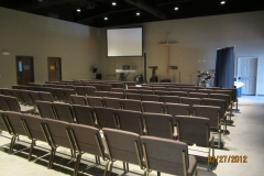 Worship area and seating
