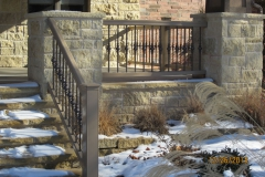 Porch staircase