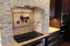 Custom kitchen stove