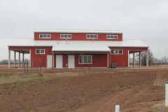 Horse stable barn